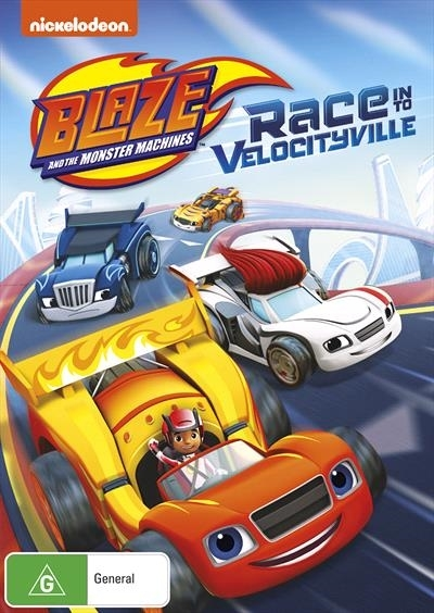 Blaze And The Monster Machines: Race Into Velocityville on DVD image