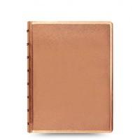 Filofax - A5 Saffiano Notebook - Rose Gold