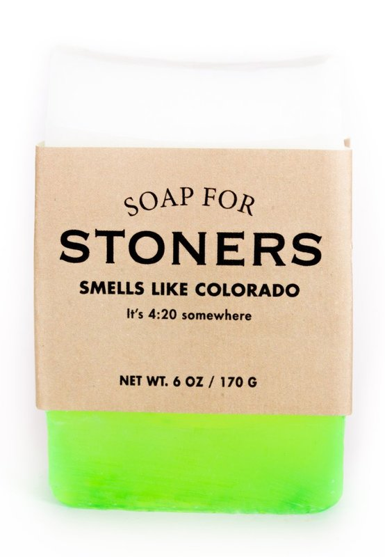 Whiskey River Co: Soap - For Stoners