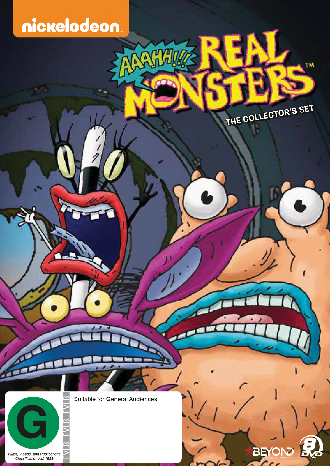 Aaahh!!! Real Monsters: Collector's Set on DVD image