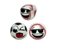 Sticky Squeeze Sports Ball - (Assorted Designs)