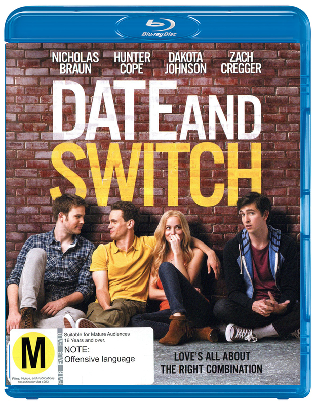 Date and Switch on Blu-ray