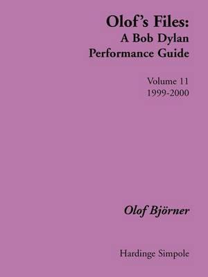Olof's Files: v. 11 by Olof Bjorner