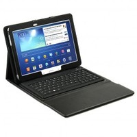 mbeat Galaxy Tab3 10.1 Keyboard case folio kit -Black