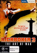 Kickboxer 3 - The Art Of War on DVD