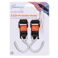 Strollerbuddy® Ezy-Fit Stroller Hooks (2 Pack)