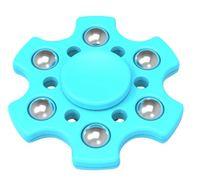 Hex Fidget Spinner - Aqua