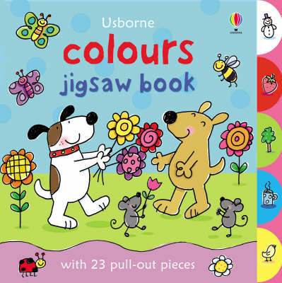 Colours Jigsaw Book by Felicity Brooks image