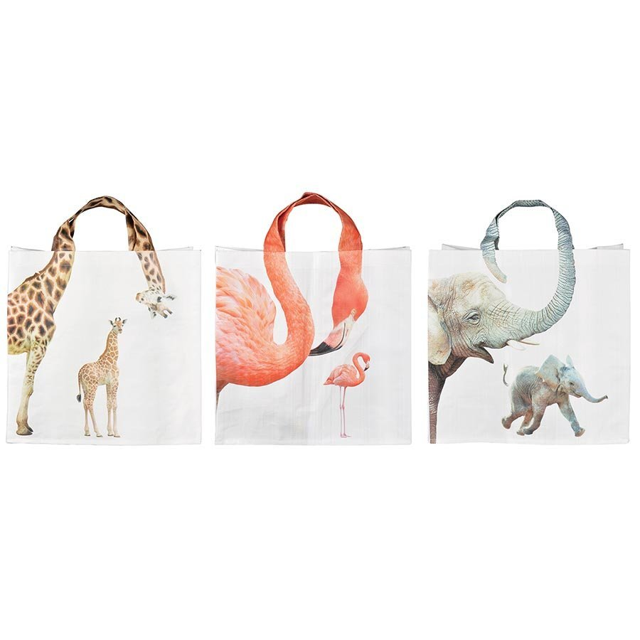 Animal Shopping Bag - Zoo - Assorted image