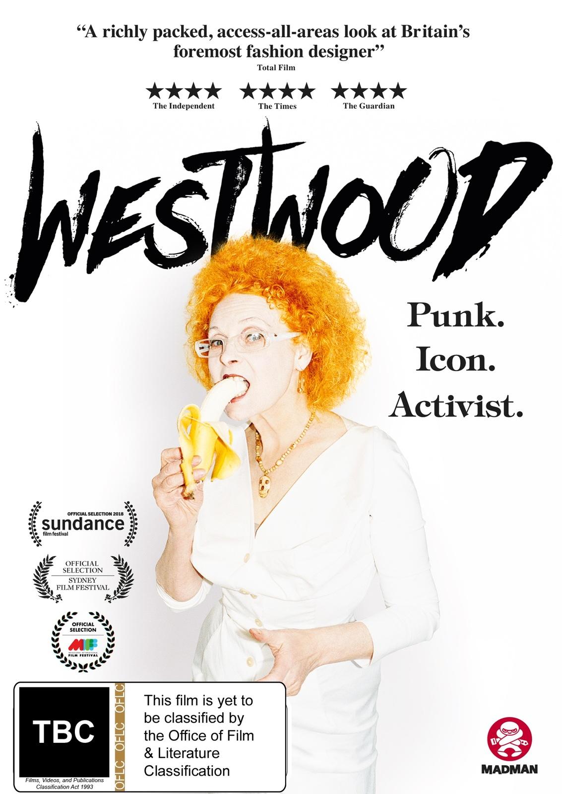 Westwood: Punk, Icon, Activist on DVD image
