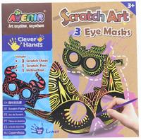Avenir Scratch Art Kit - Eye Masks