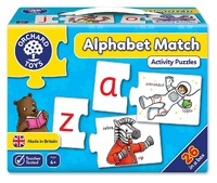 Orchard Toys: Alphabet Match - Jigsaw Game