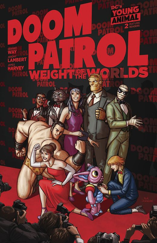 Doom Patrol: The Weight Of The Worlds - #2 (Cover A) by Gerard Way