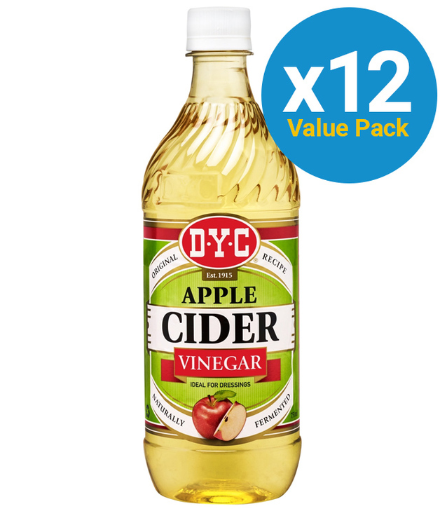 DYC: Cider Vinegar 750ml (12 Pack)