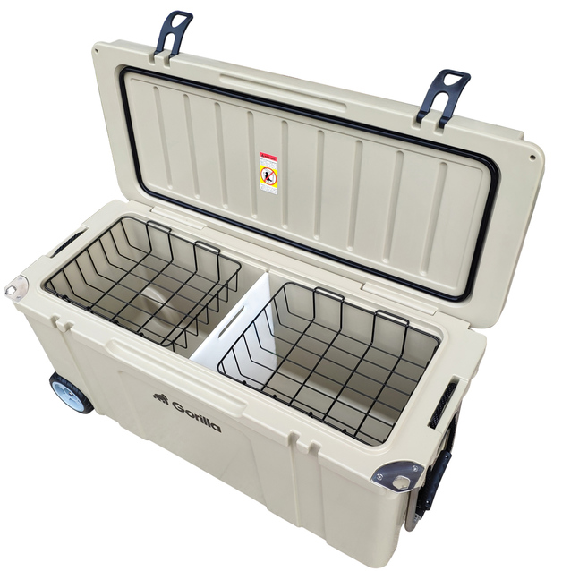 Gorilla: Heavy Duty Ice Box Chilly Bin with Wheels 120L