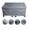 Outdoor Heavy Duty 2 Seater Lounge Chair Furniture Cover - 160(L) x 80(W) x 75cm(H)