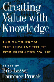 Creating Value with Knowledge image
