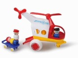 Viking Toys - Jumbo Ambulance Helicopter with 3 Figures & 1 Stretcher