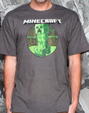 Minecraft: Retro Creeper Regular T-Shirt - XL