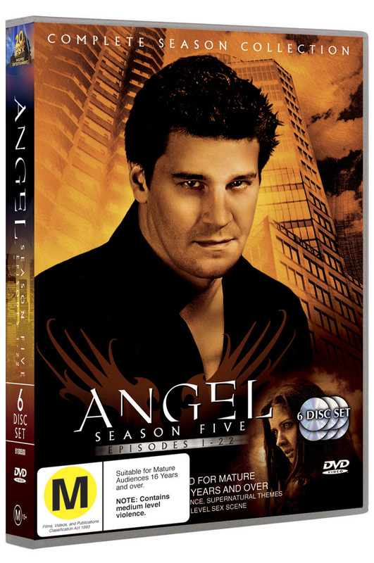 Angel - Complete Season 5 (6 Disc Set) on DVD