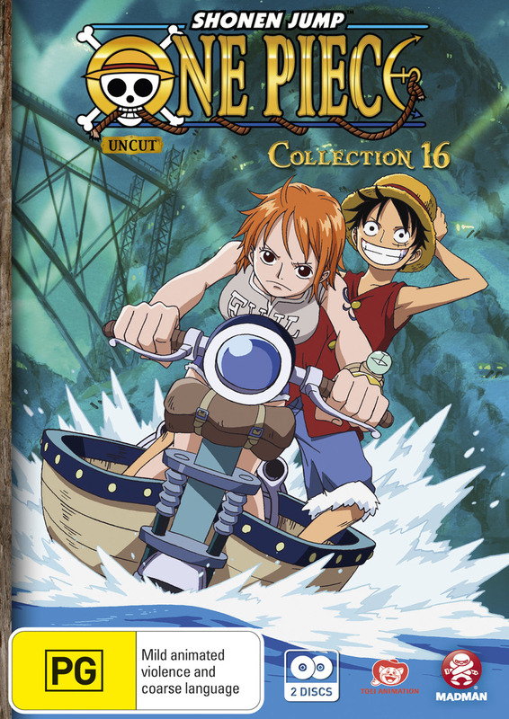 One Piece (Uncut) - Collection 16 on DVD