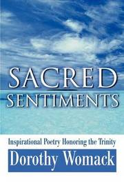 Sacred Sentiments: Inspirational Poetry Honoring the Trinity by Dorothy Womack image