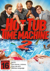 Hot Tub Time Machine 2 on DVD