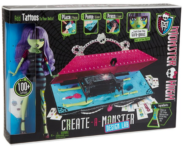 Monster High Create A Monster Design Lab Playset Toy At Mighty