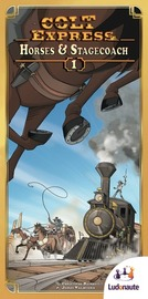Colt Express: Horses & Stagecoach - Game Expansion