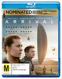 Arrival on Blu-ray image
