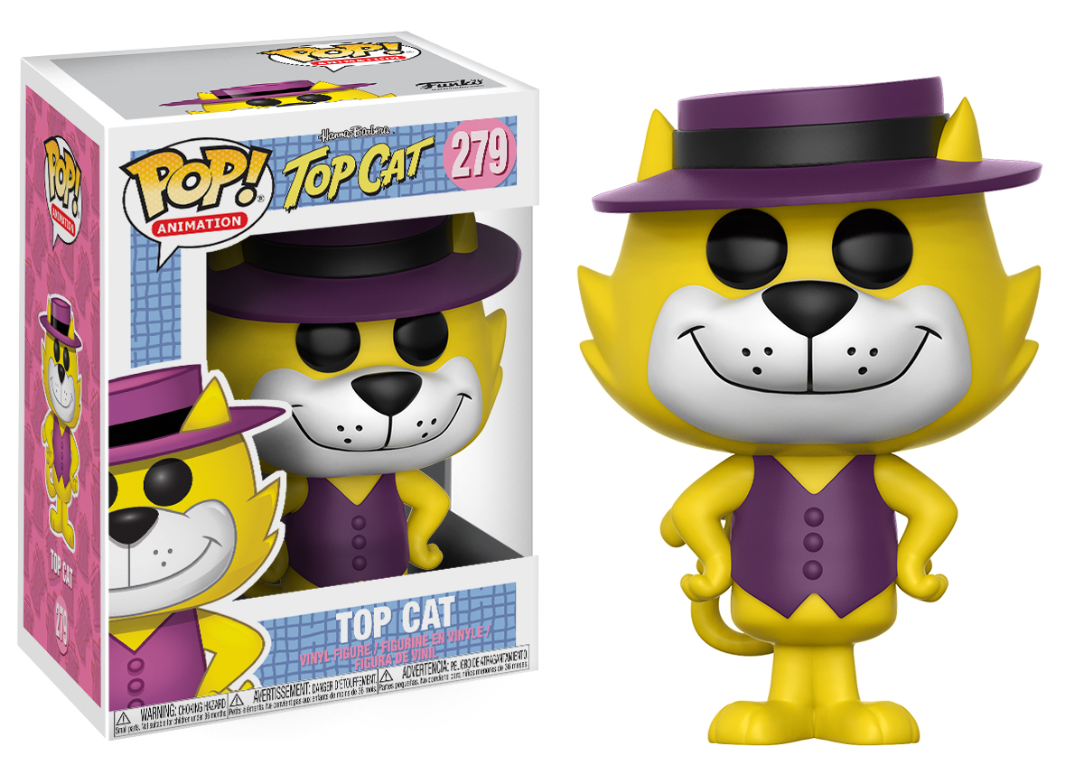 Hanna-Barbera - Top Cat Pop! Vinyl Figure (with a chance for a Chase version!) image
