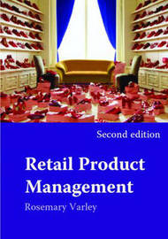 Retail Product Management by Rosemary Varley image