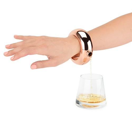 Blush: Charade - Bracelet Flask (Rose Gold) image