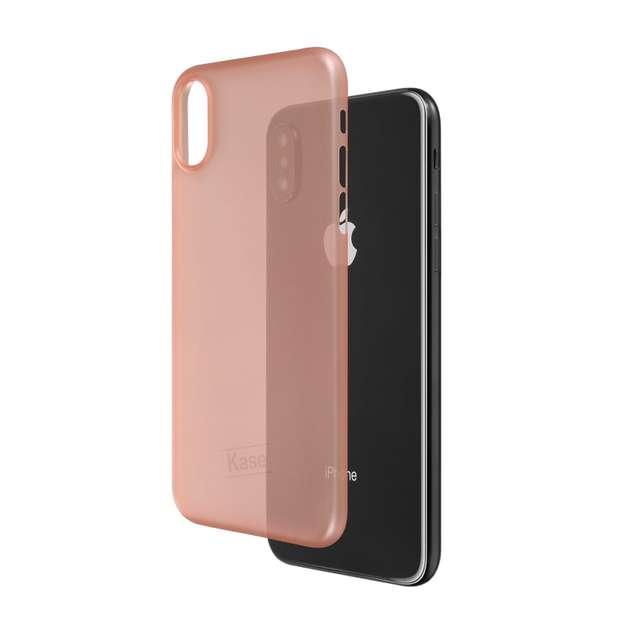 Kase Go Original iPhone X Slim Case- Rose Coloured Glasses