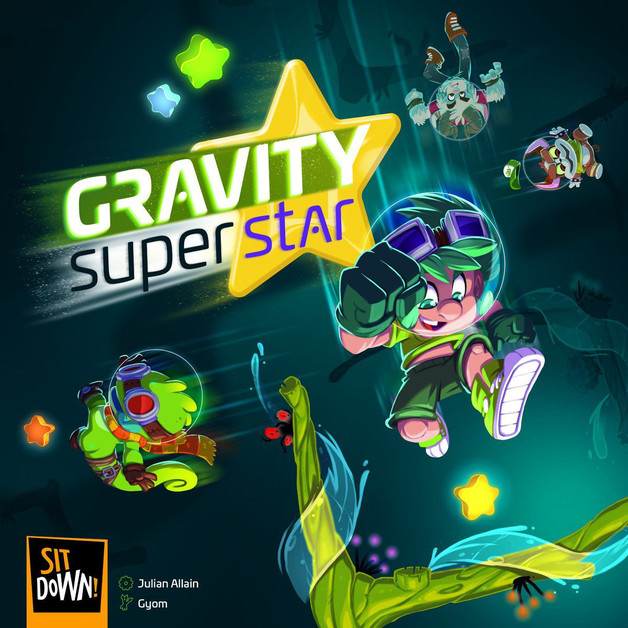 Gravity Superstar - Board Game
