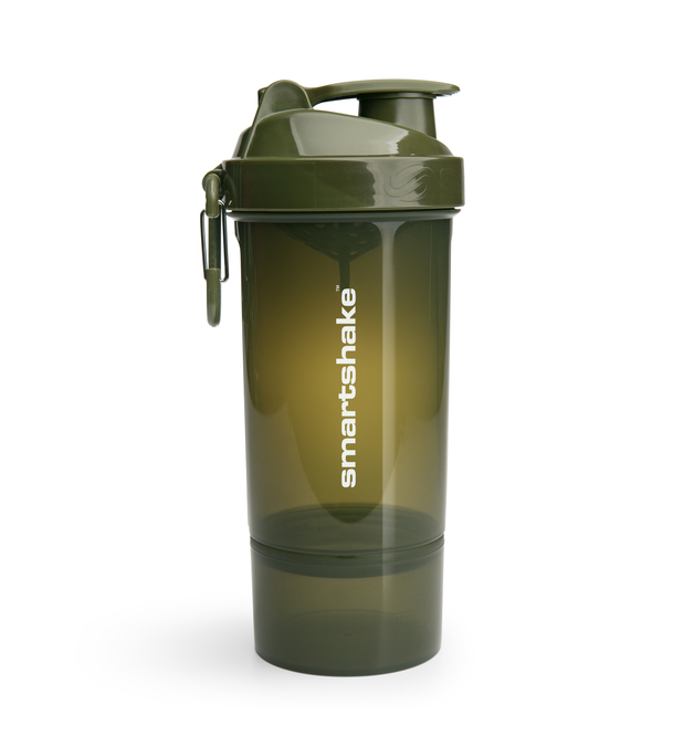 Smartshake Original 2Go One Protein Shaker - Army Green (800ml)