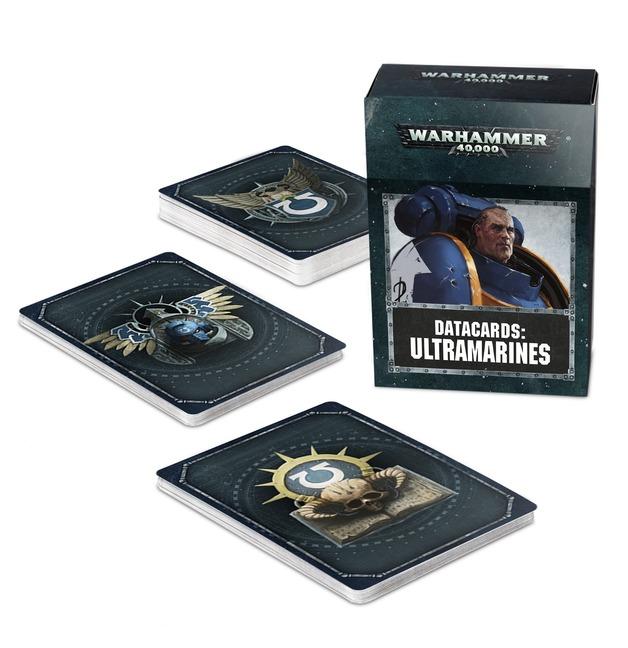 Warhammer 40,000 Datacards: Ultramarines