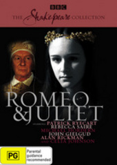 Romeo And Juliet (1978) (Shakespeare Collection) on DVD