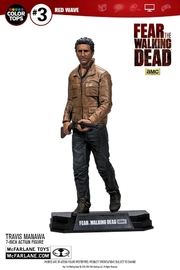 "Fear the Walking Dead - 7"" Travis Manawa - Action Figure"