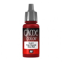 Vallejo Game Colour Gory Red 17ml