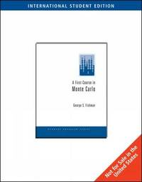 A First Course in Monte Carlo Simulation by George Fishman image