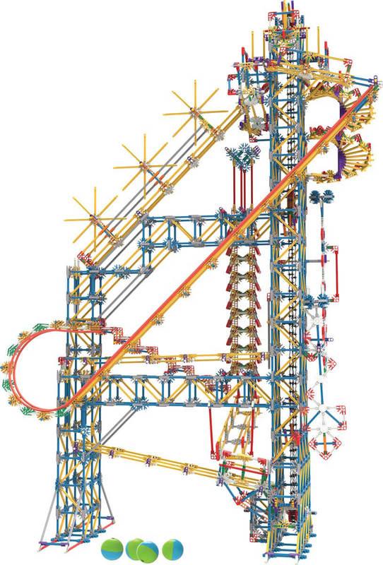 K'NEX Classic Ball Machine (Plus 3 Ft Ferris Wheel)