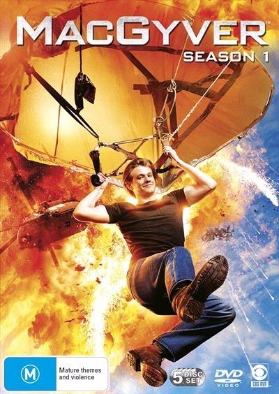 Macgyver - Season 1 on DVD image