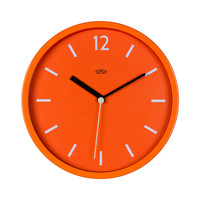 Wild Wood Wall Clock - Goldfish Orange (12 Inch)