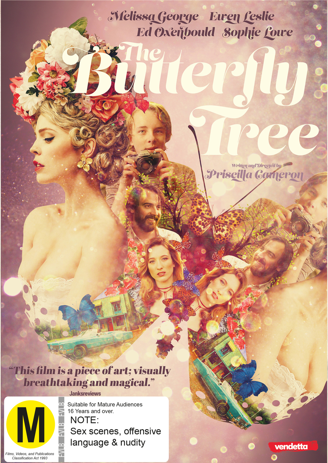 The Butterfly Tree on DVD image