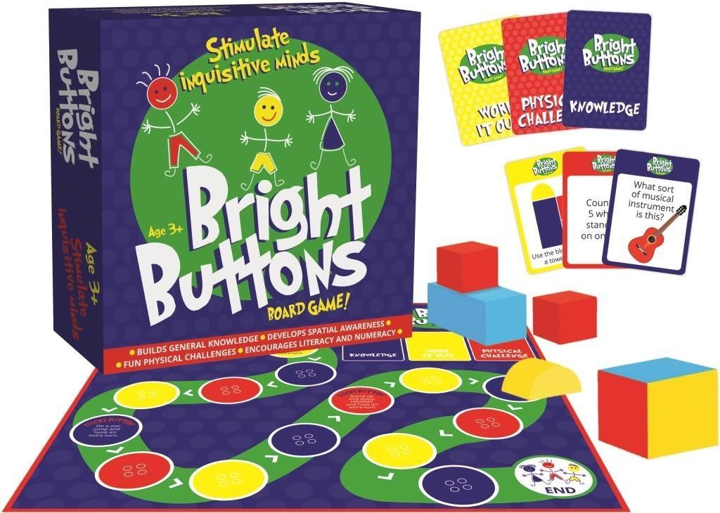 Bright Buttons - Board Game image