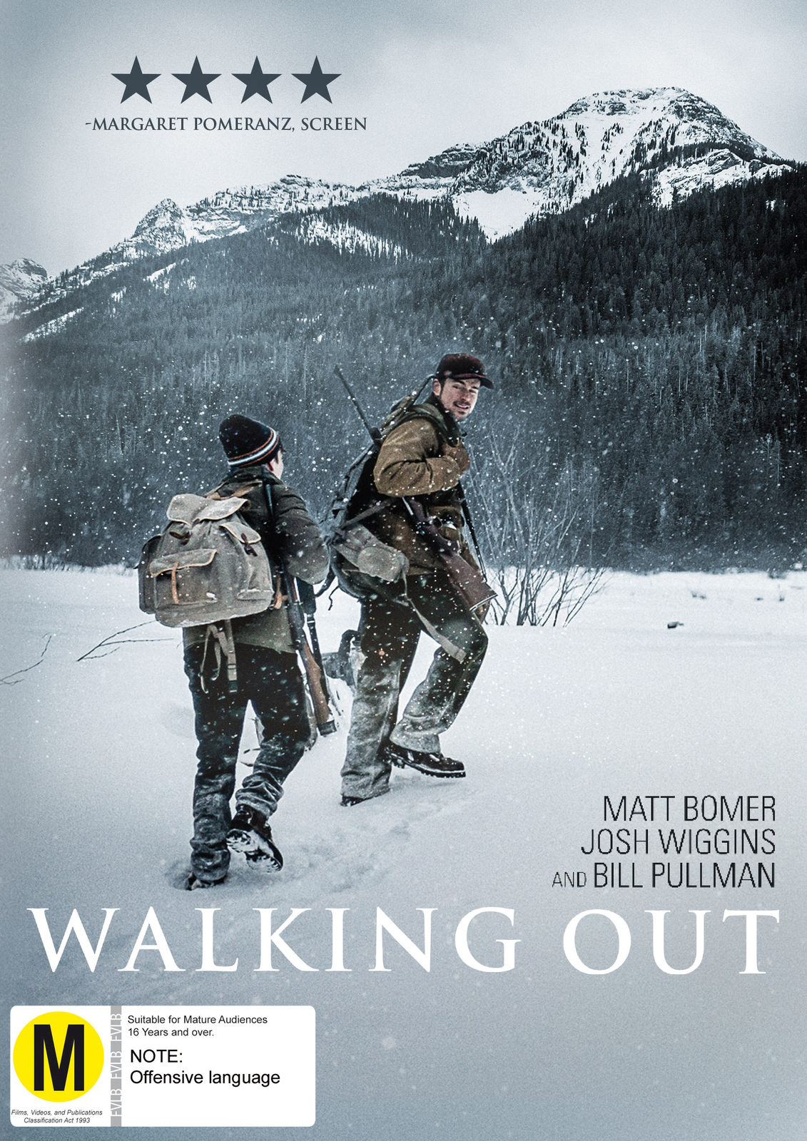 Walking Out on DVD image