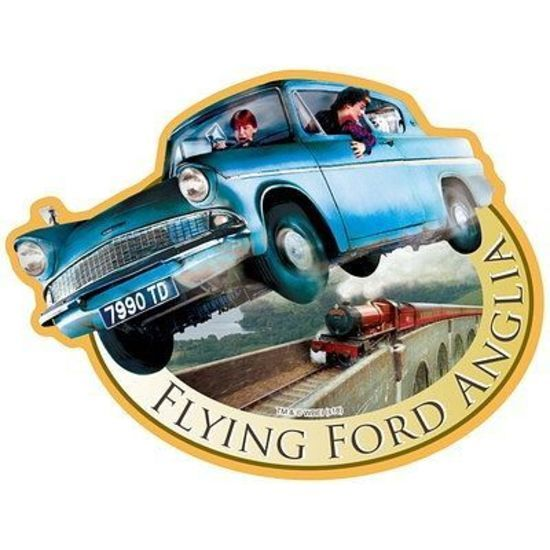 Harry Potter: Travel Sticker 7 Flying Ford Anglia image