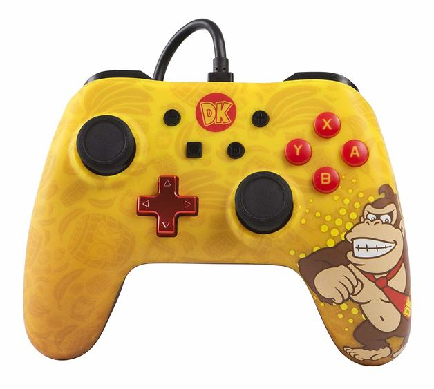 Nintendo Switch Classic Wired Controller - Donkey Kong for Switch