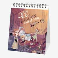 Legami: Peter & Wendy 2020 Desk Calendar
